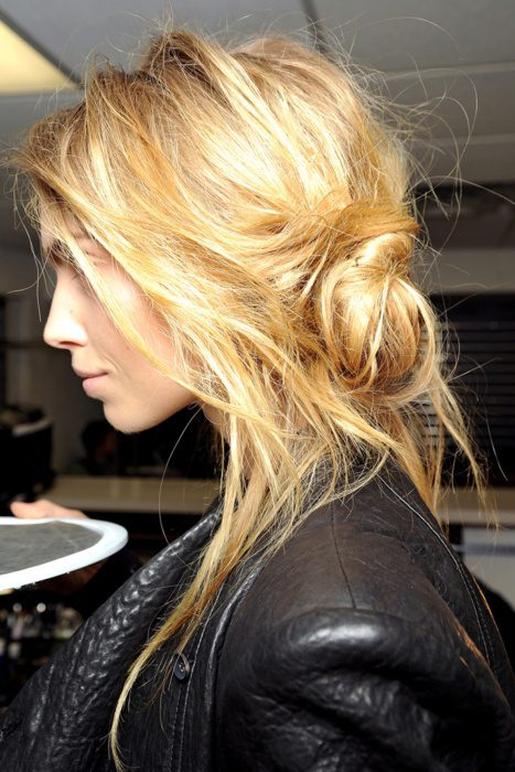 melír na blond vlasy
