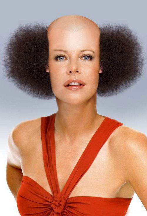 Pleasant Crazy Hairstyles Funny Haircuts Loshairos Com Hairstyles For Men Maxibearus
