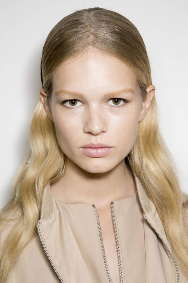 styl uczesania włosów długich 2014 - Ferragamo