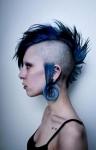 mohawk-woman-blue-color