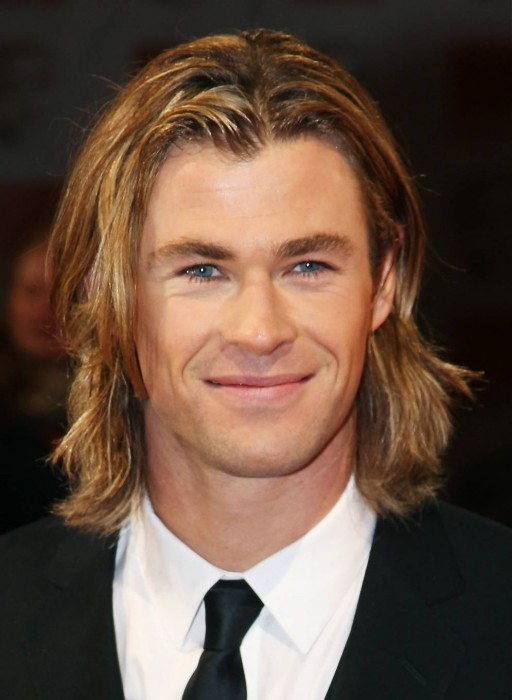 Mens Hairstyles Long Hair The Middle Part Movie