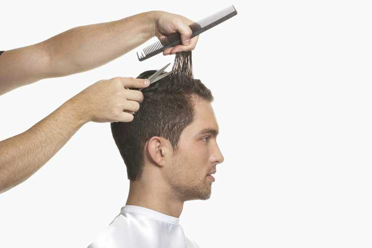 pánsky zostrih vlasov návod