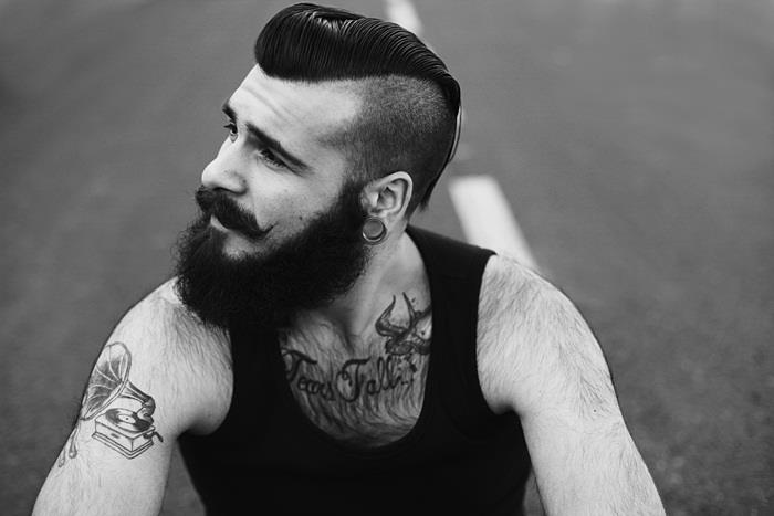 Galerry pompadour haircut diy