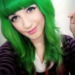 green-hair-colour
