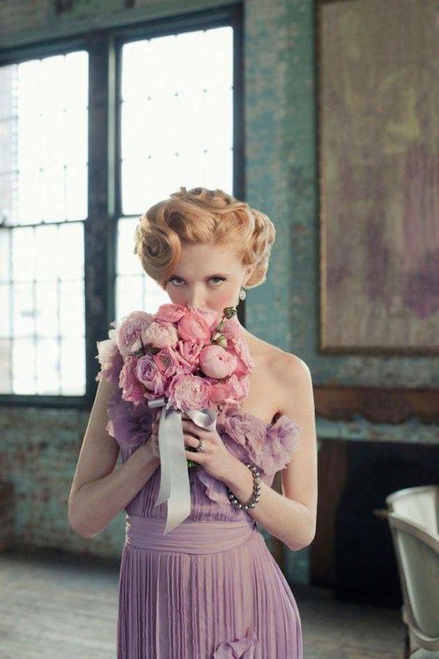 krátký účes svatební Marilyn Monroe.