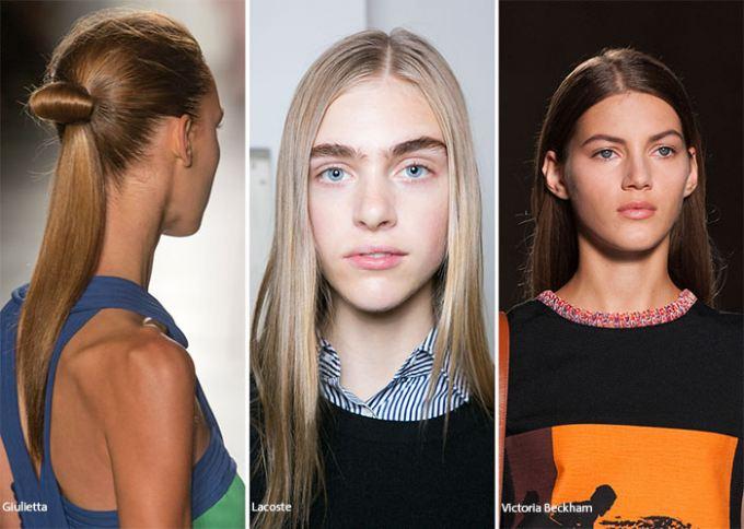 rovné vlasy trend pre tento rok