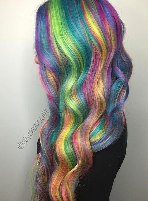 Dúhové vlasy