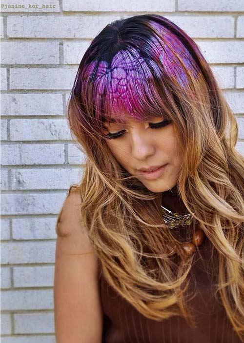 Malování na vlasy