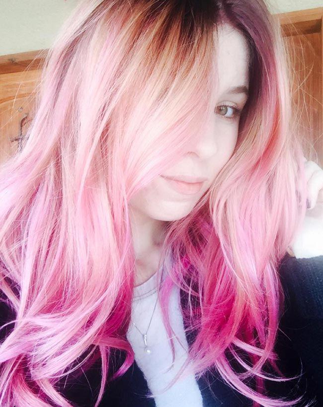 barvení vlasů color melting