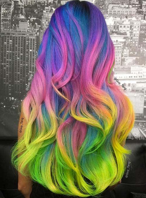 Neonové barvy