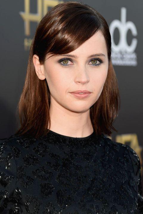 Hnedé vlasy so svetlými odleskami
