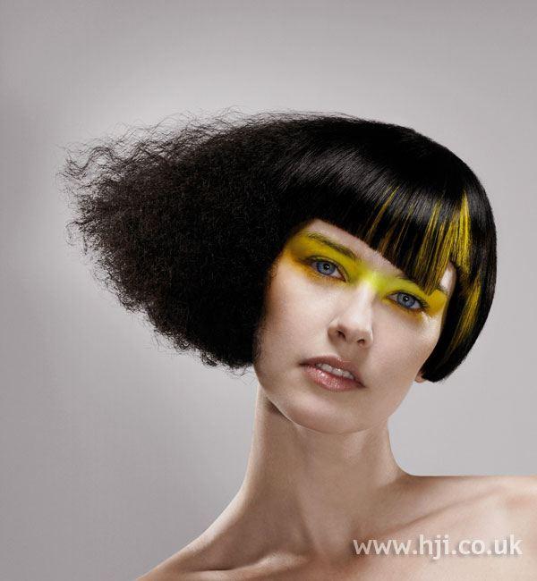 krepovité vlasy