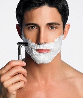 pánske holenie muži ako sa holiť