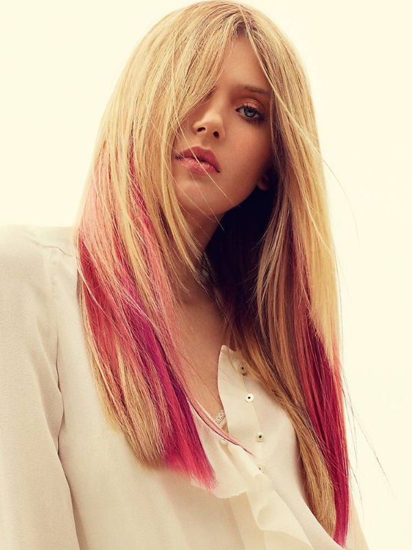 Pinky Hair 32 Different Styles Pink Highlights
