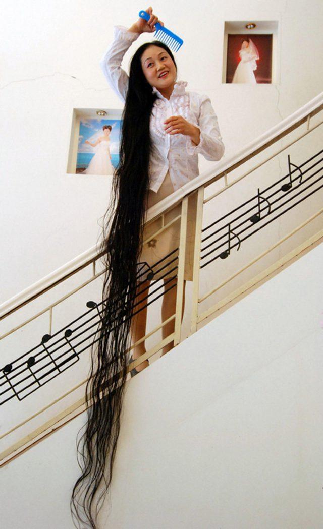 Najdlhšie vlasy na svete