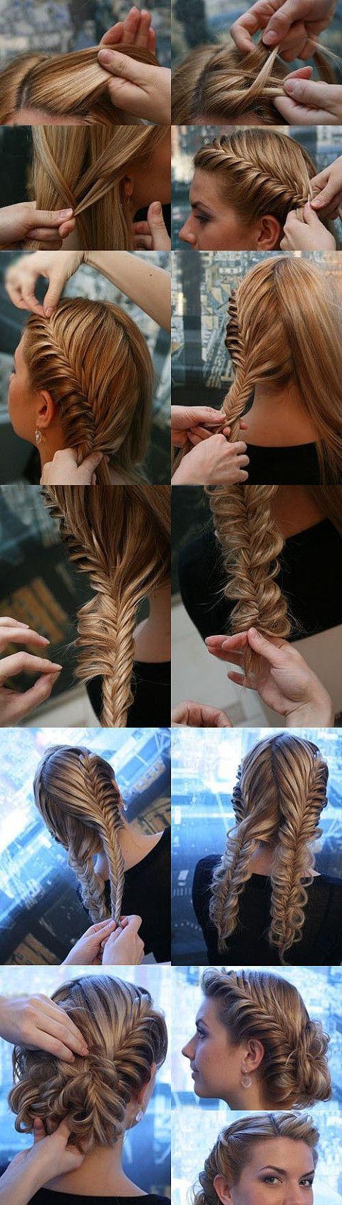 krásné vlasy a účes