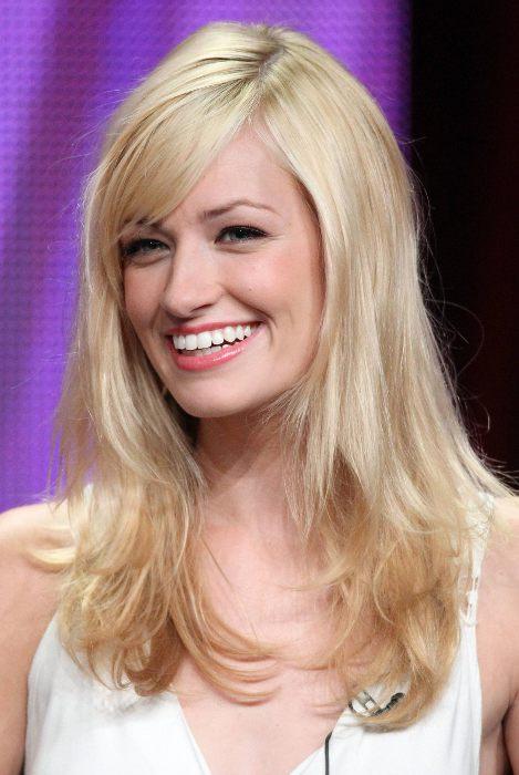 Blond vlasy a hnědý melír