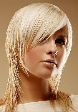 Blond vlasy hnedý melír