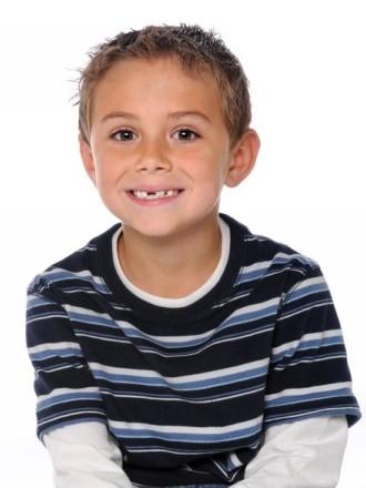 chlapecký účes s ofinou