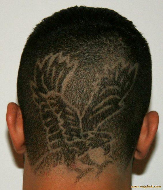 nezvyčajné vlasy