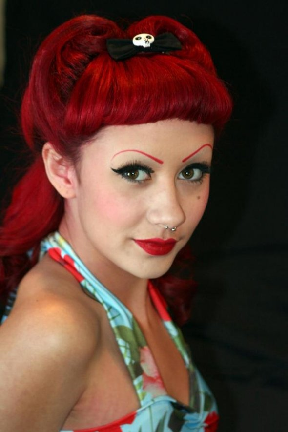 10 Pin Up Hairstyles