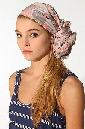 šátek do vlasů