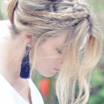 wedding-hairstyle-with-bun-braided