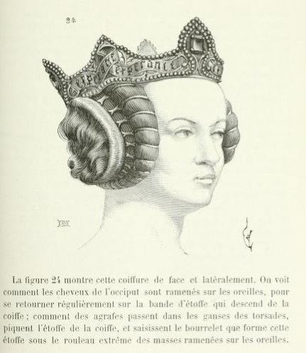 Hairstyles In The Middle Ages Medieval Hairstyles