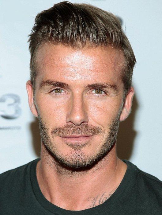 David Beckham účesy