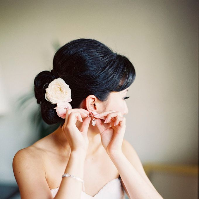 kvet vo vlasoch pre nevestu
