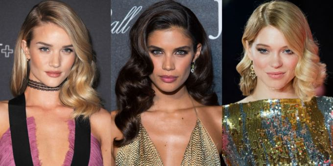 Rosie Huntington-Whiteley, Sara Sampaio a Léa Seydoux