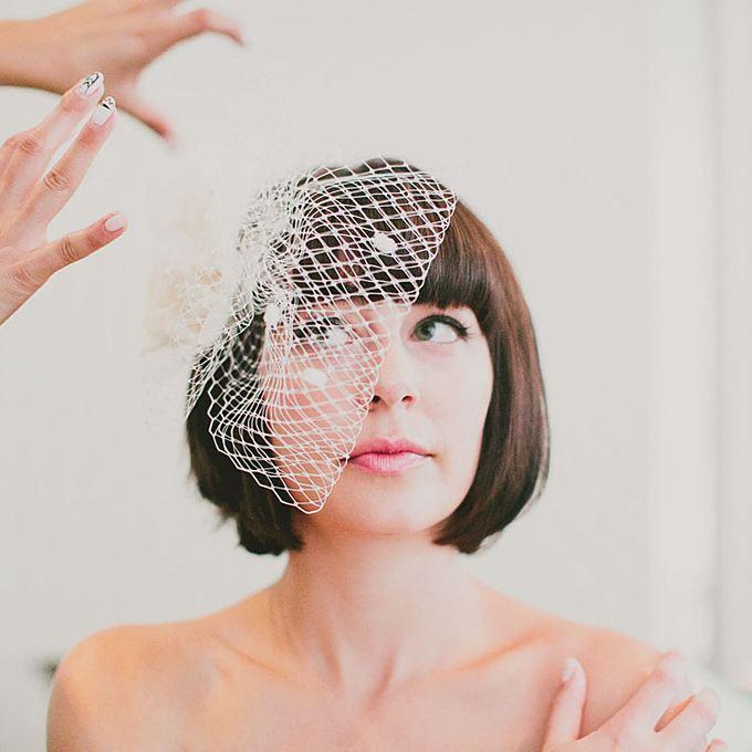Svatební ozdoby do vlasů