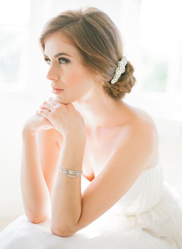 spona do vlasů pro nevěsty