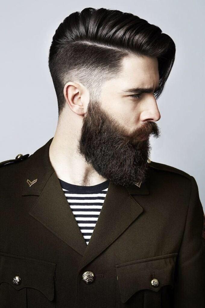trendy pánské střihy vlasů 2018