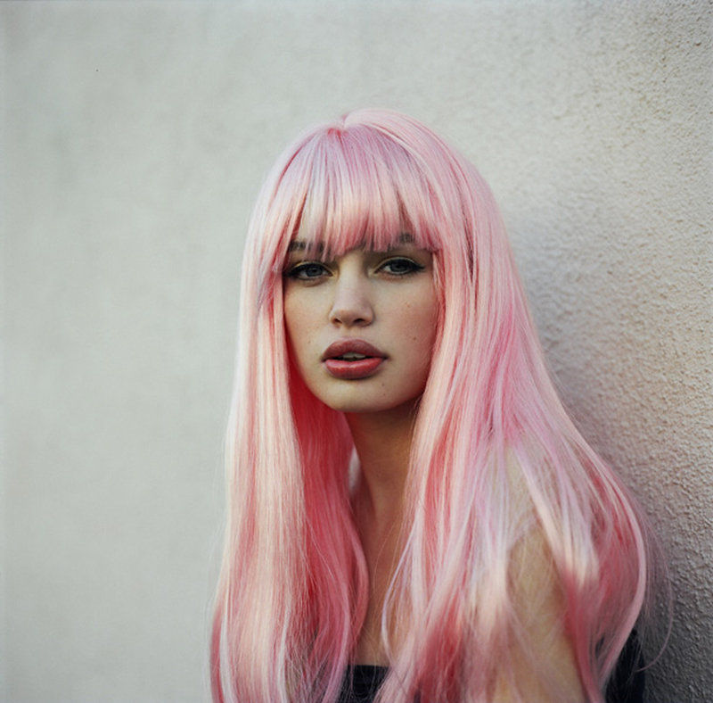 Pinky hair - 32 different styles - pink highlights ...