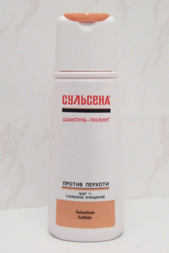 šampón sulsena proti lupinám