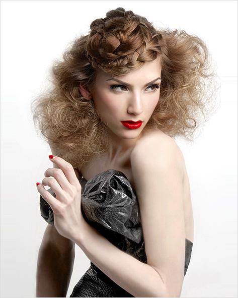 Účesy s vrkočmi pre krátke vlasy Ženy si často myslia, že