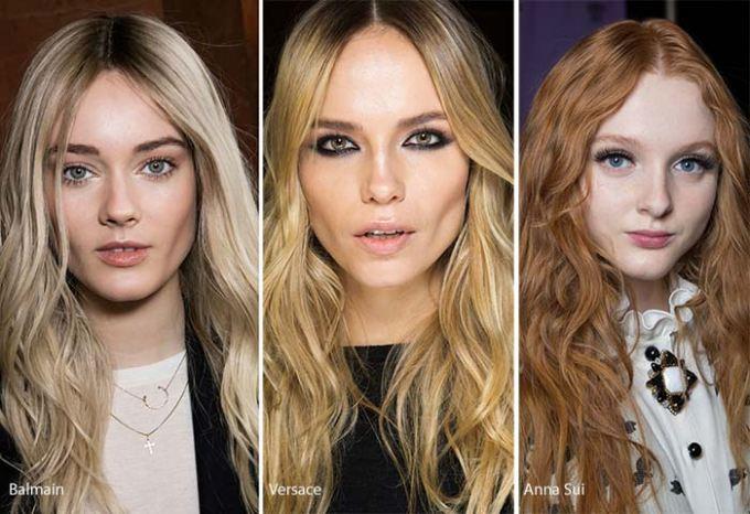 vlnité dámske účesy 2017 dievčatá