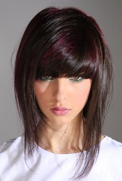 vlasy podle barvy pleti - zimní typ